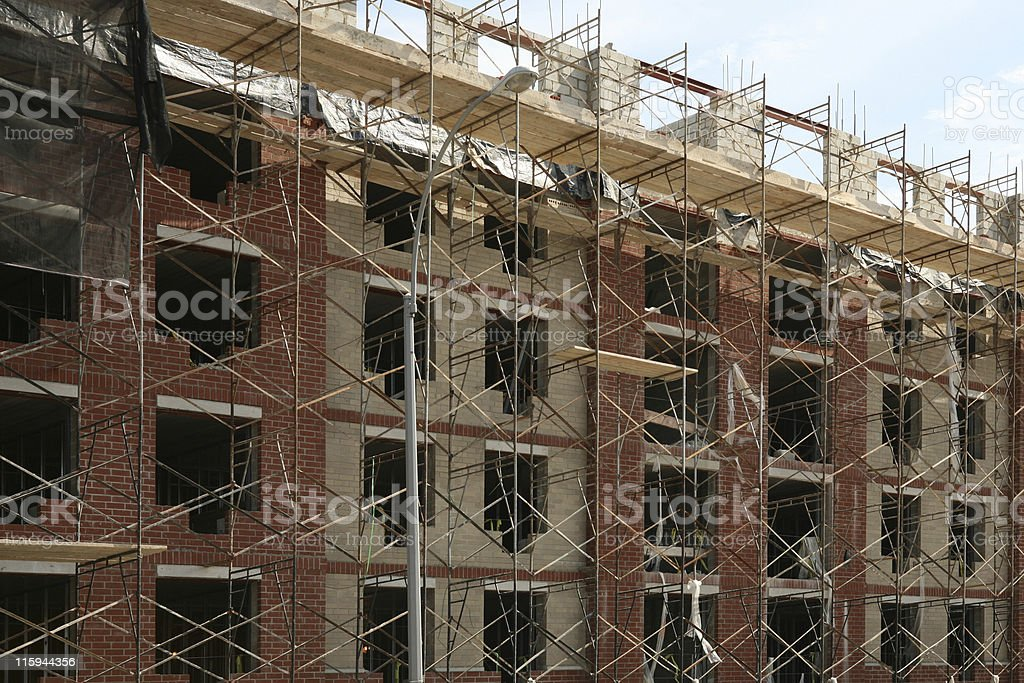 Bronx Housing Construction stock photo