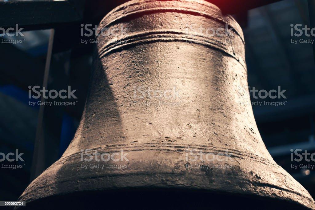 Bronze Bell stock photo