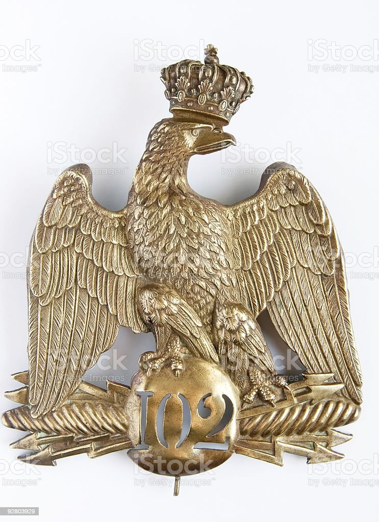 Bronze Eagle royalty-free stock photo