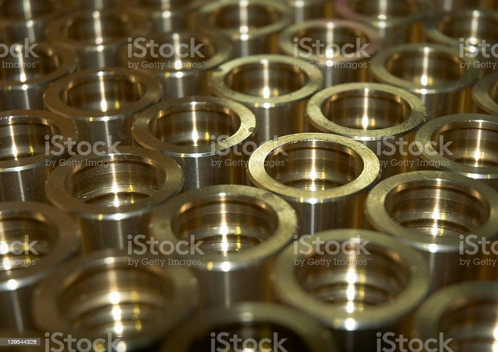 Bronze hose collar royalty-free stock photo