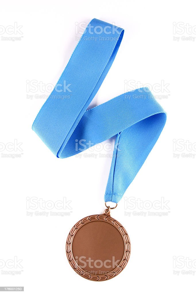 Bronze Medal royalty-free stock photo