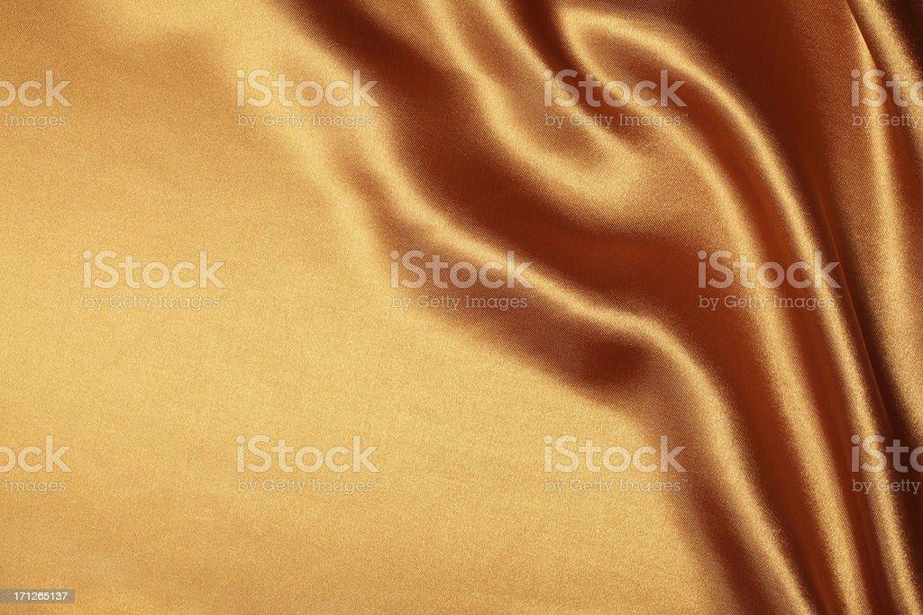 Bronze Silk Background royalty-free stock photo