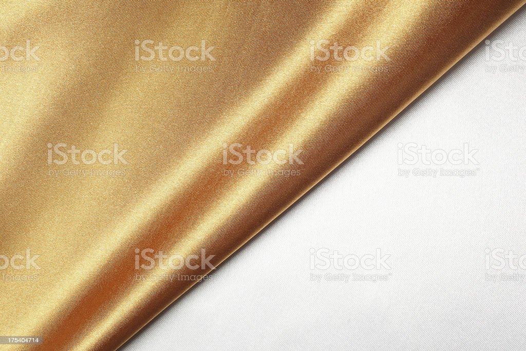 Bronze Silk Texture stock photo