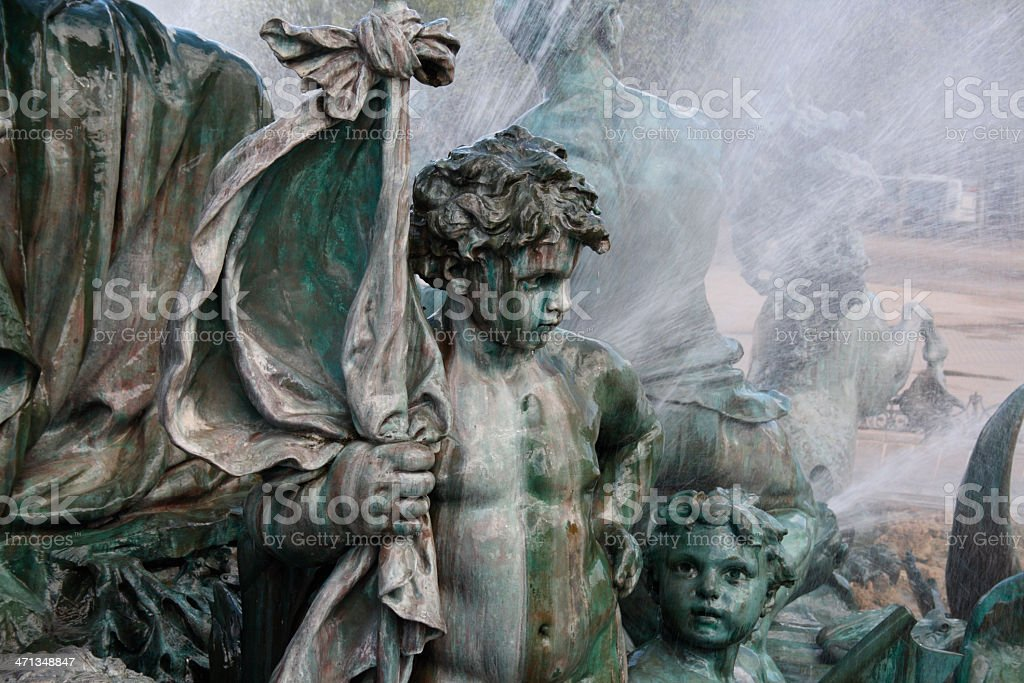 Bronze Statue royalty-free stock photo