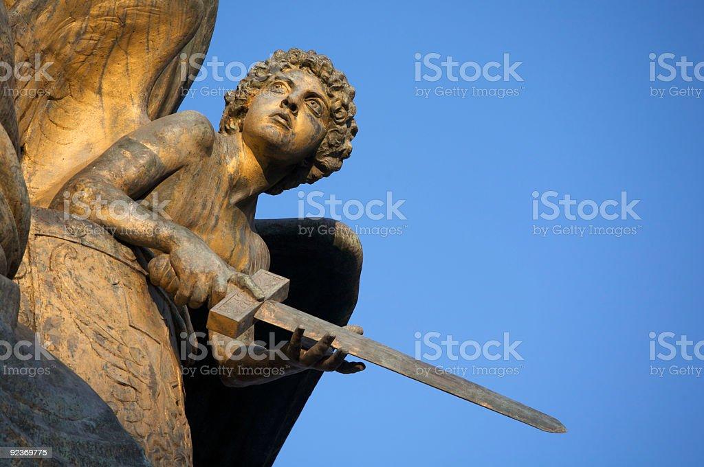 Bronze statue royalty-free stock photo