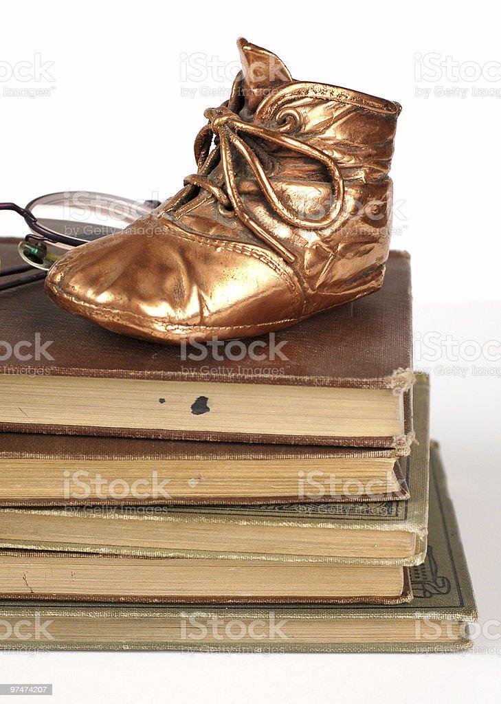 Bronzed History royalty-free stock photo