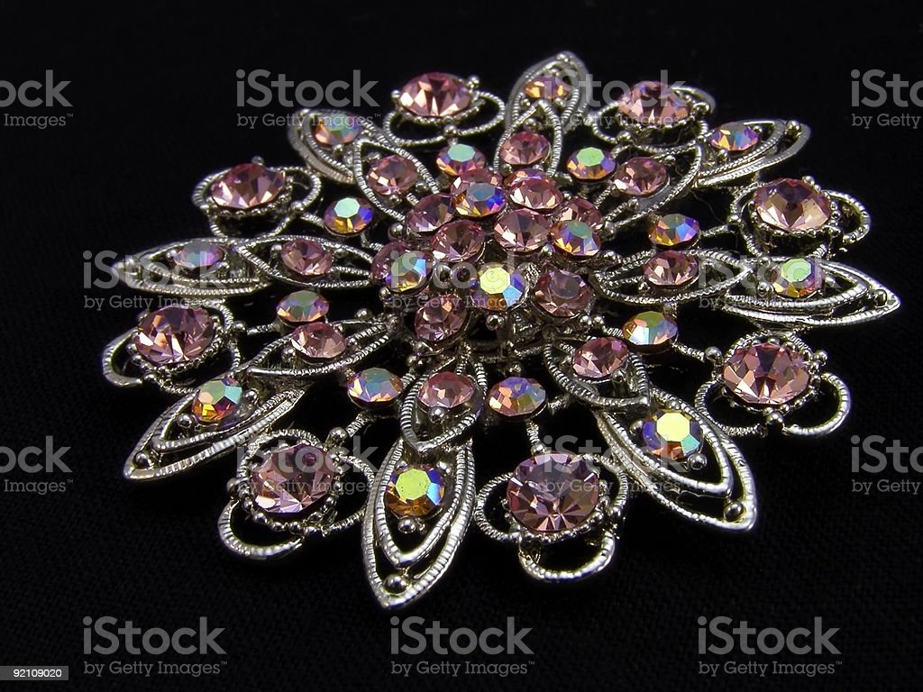 brooch - jewellery royalty-free stock photo