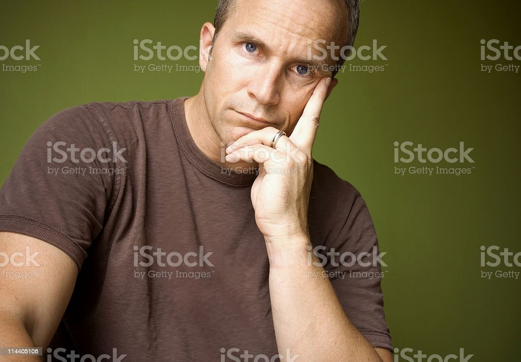 Brooding stock photo