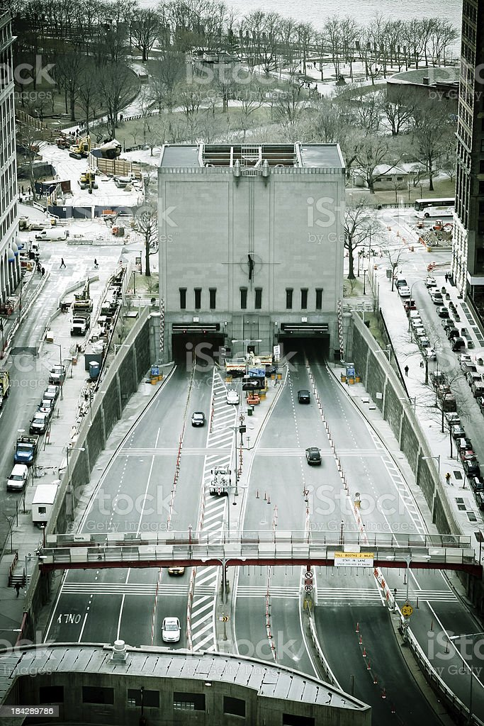 Brooklyn Battery Tunnel stock photo