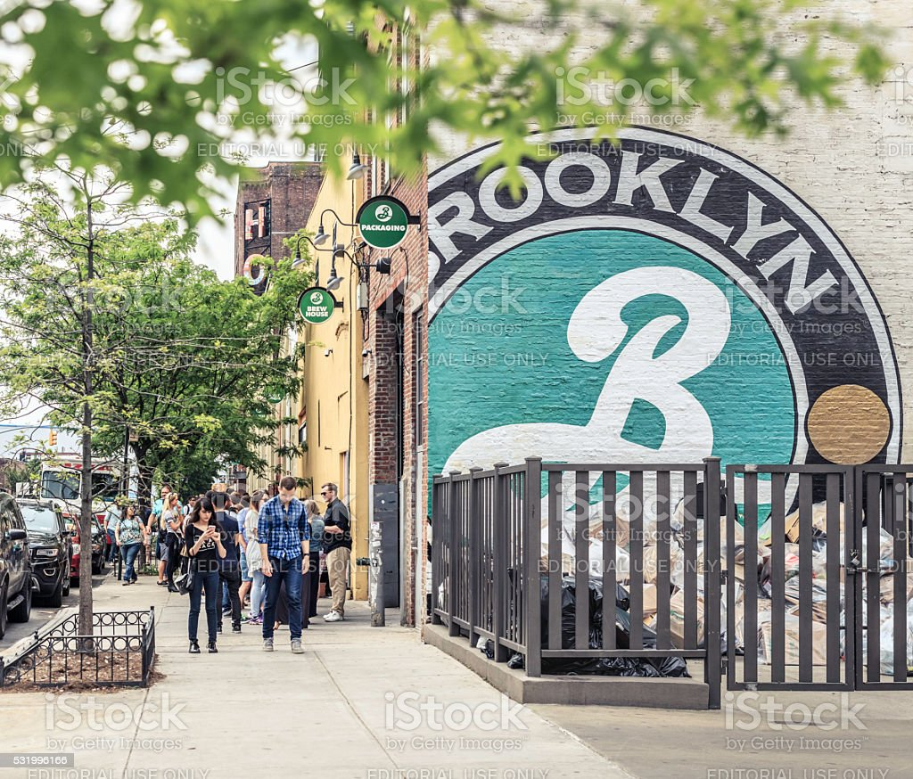 Brooklyn Brewery stock photo