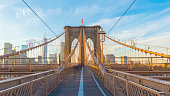 Brooklyn Bridge, Day light, New York, USA