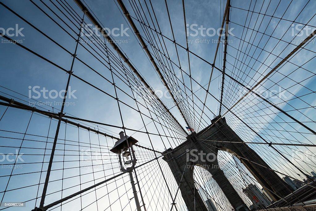 Brooklyn Bridge New York, USA stock photo