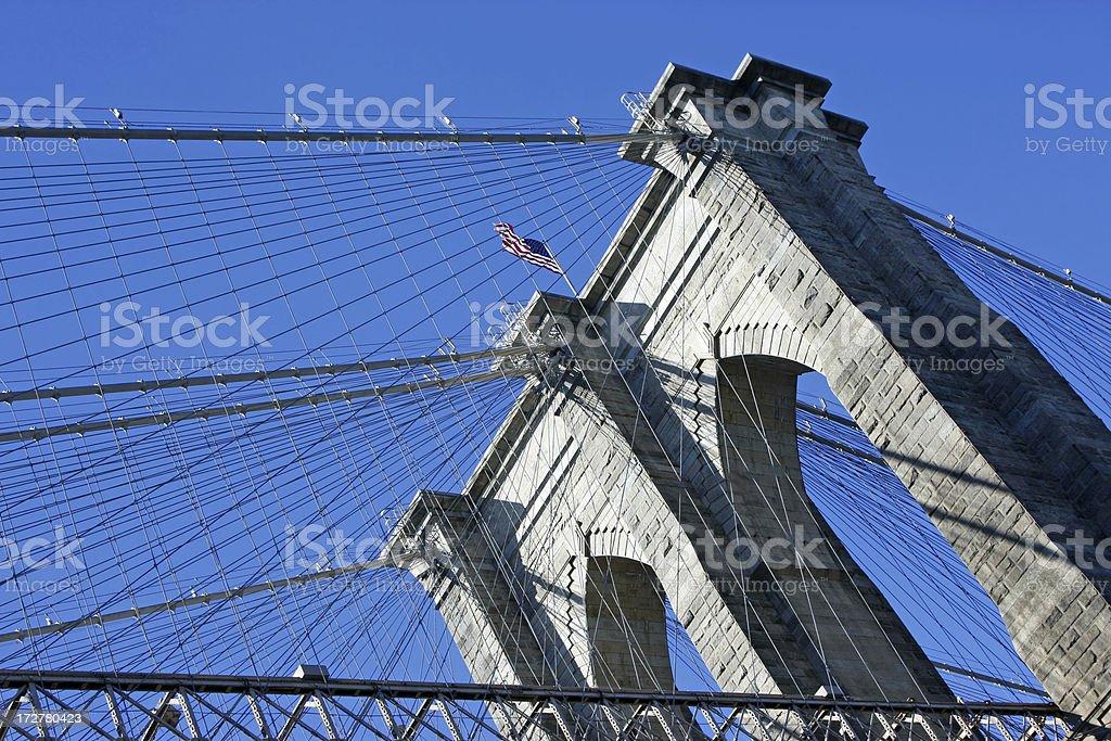 Brooklyn bridge New York # 5 XL royalty-free stock photo