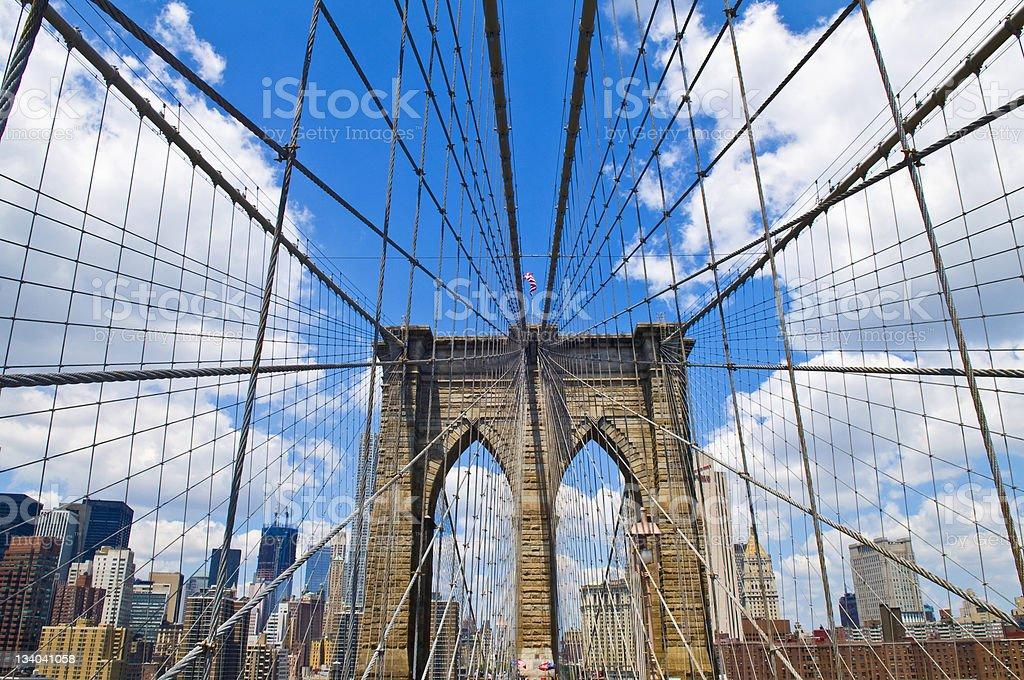 ブルックリン橋 ロイヤリティフリーストックフォト