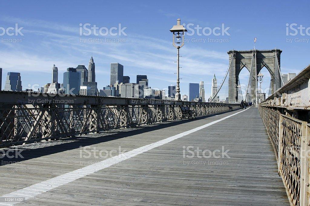 Brooklyn bridge # 2 royalty-free stock photo