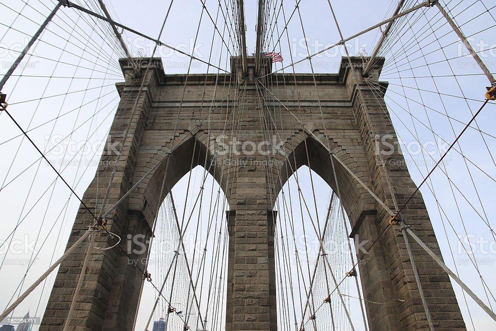 Brooklyn Bridge royalty-free stock photo