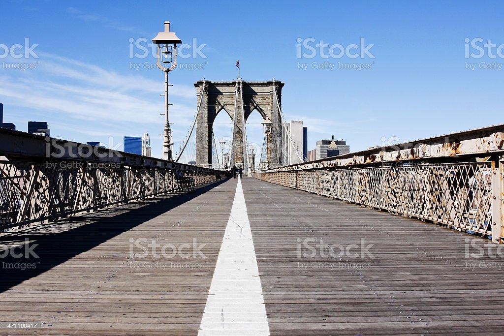 Brooklyn bridge # 6 royalty-free stock photo