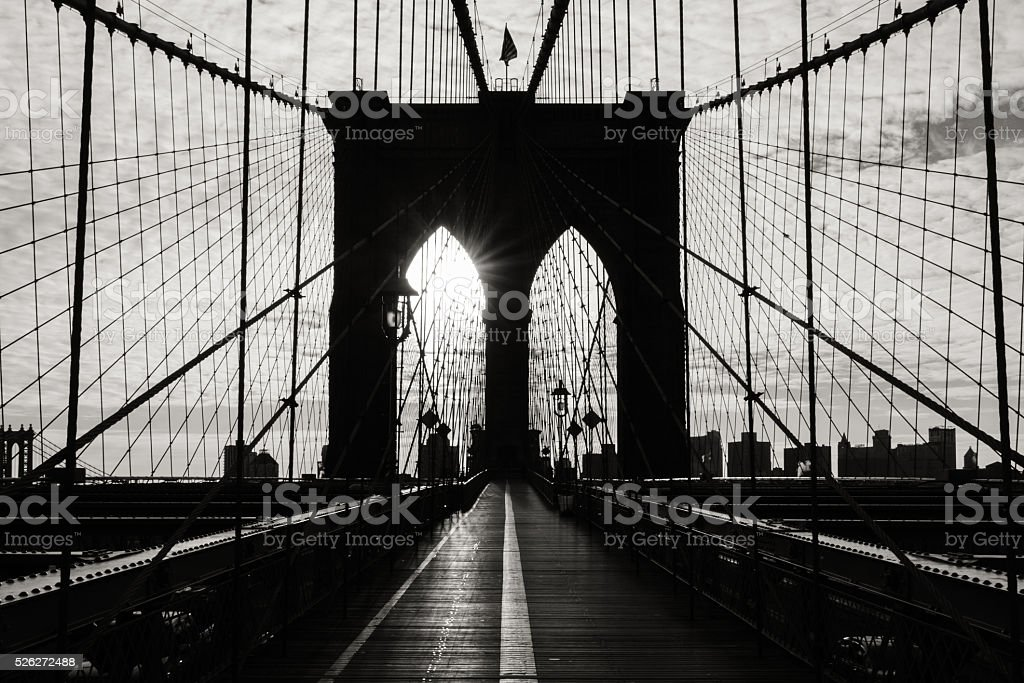 Brooklyn Bridge stock photo