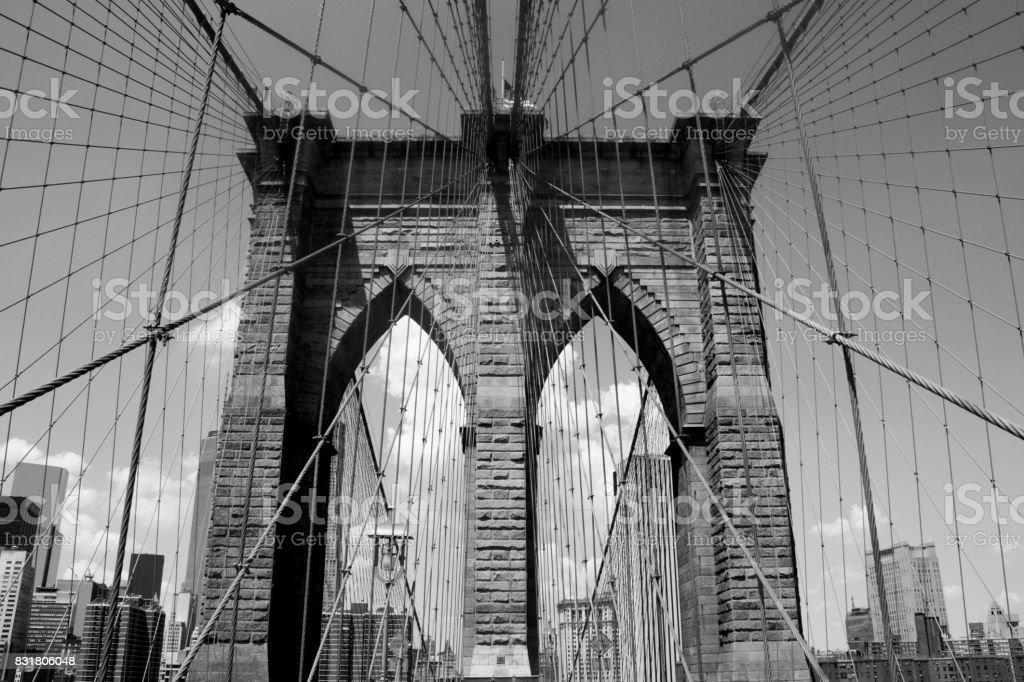 Brooklyn Bridge stock photo