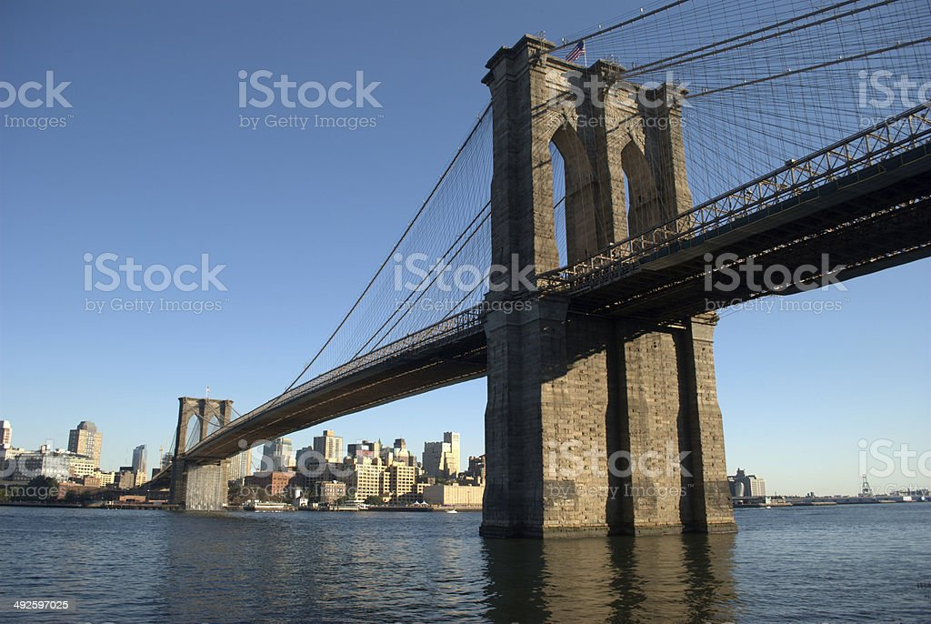 Brooklyn Bridge,New York stock photo