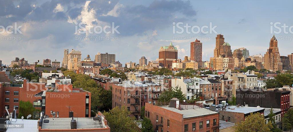 Brooklyn Heights. stock photo
