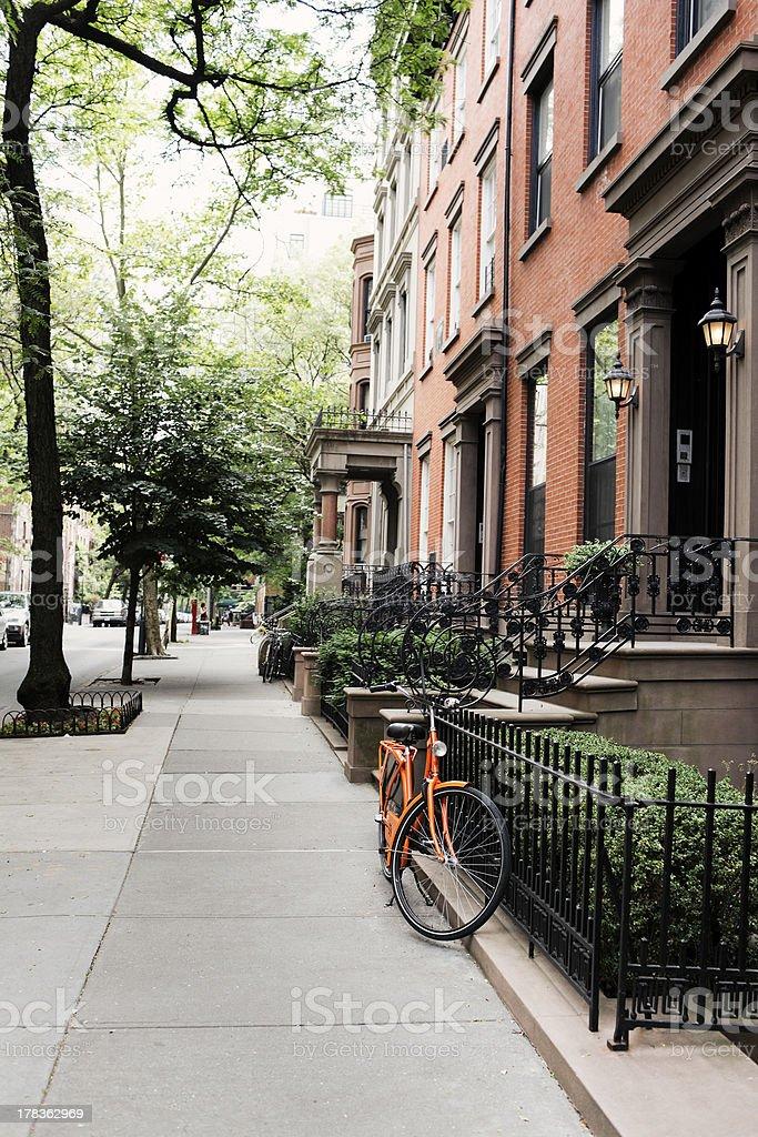 Brooklyn Heights stock photo