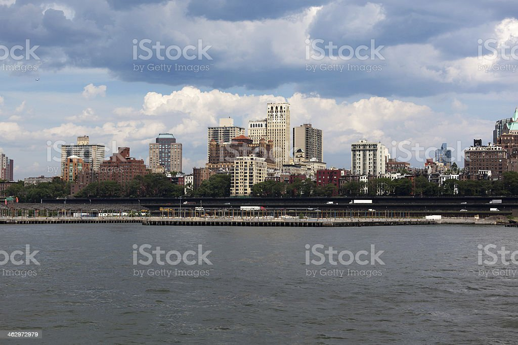 Brooklyn Heights royalty-free stock photo