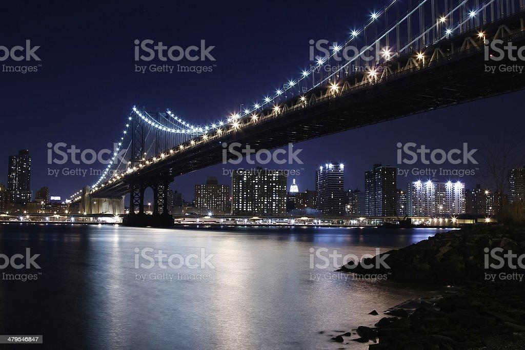 Brooklyn Lights royalty-free stock photo