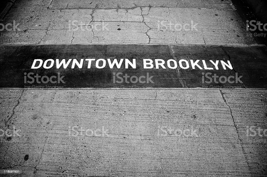 Brooklyn Sign royalty-free stock photo