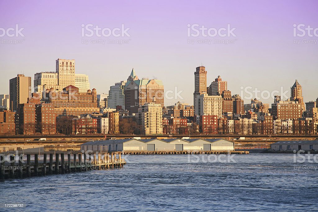Brooklyn Skyline At Sunset royalty-free stock photo