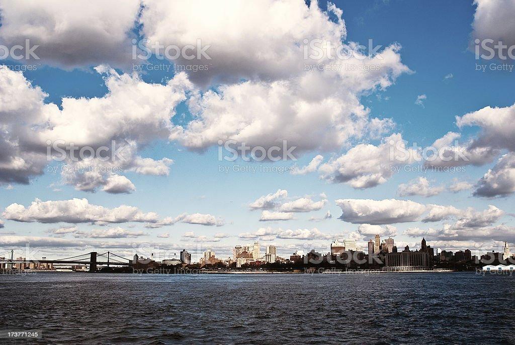 Brooklyn Skyline royalty-free stock photo