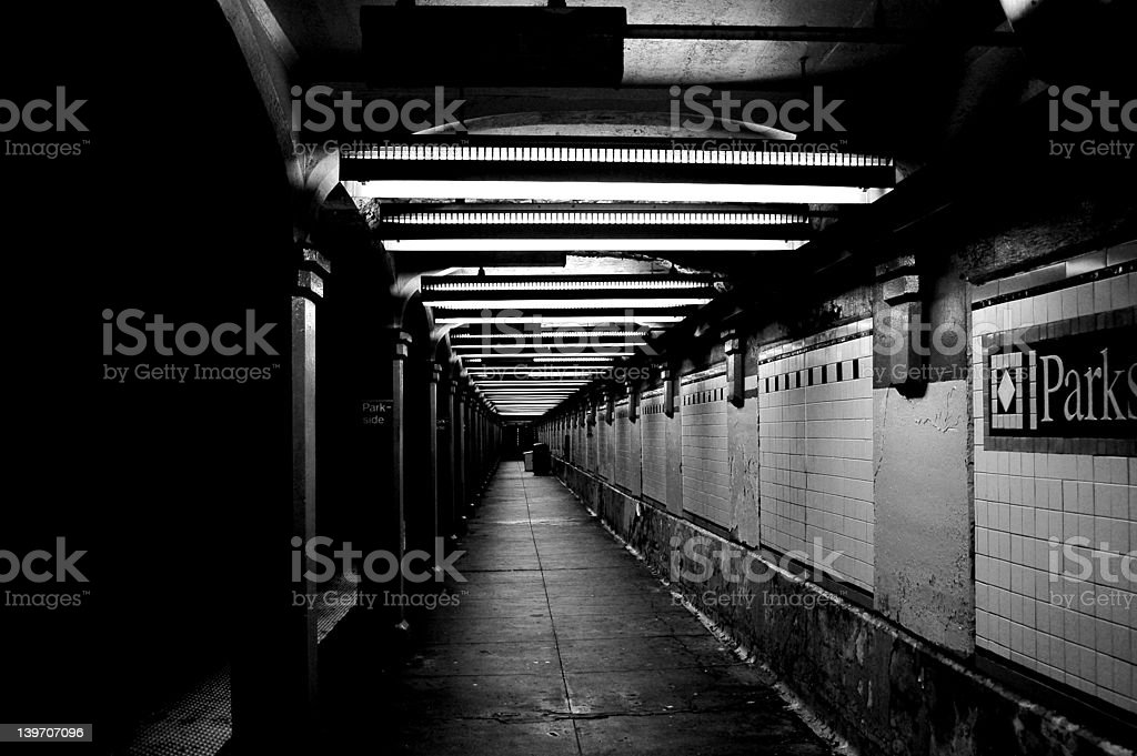 Brooklyn Subway royalty-free stock photo