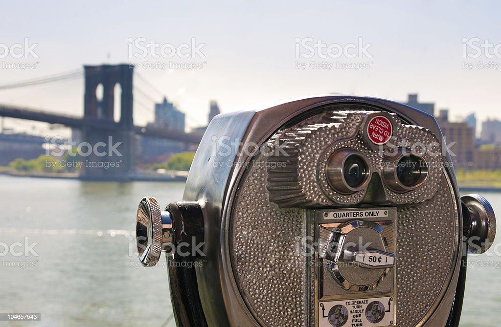 brooklyn view stock photo