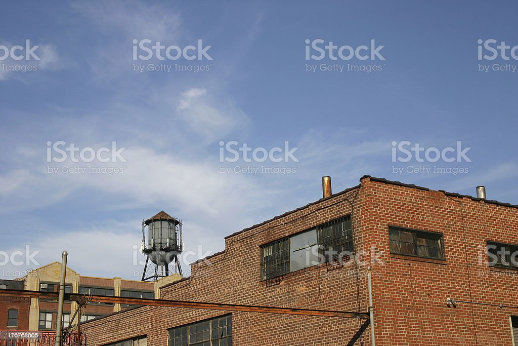 Brooklyn Water Tower royalty-free stock photo