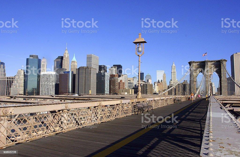 Brooklyn_bridge stock photo