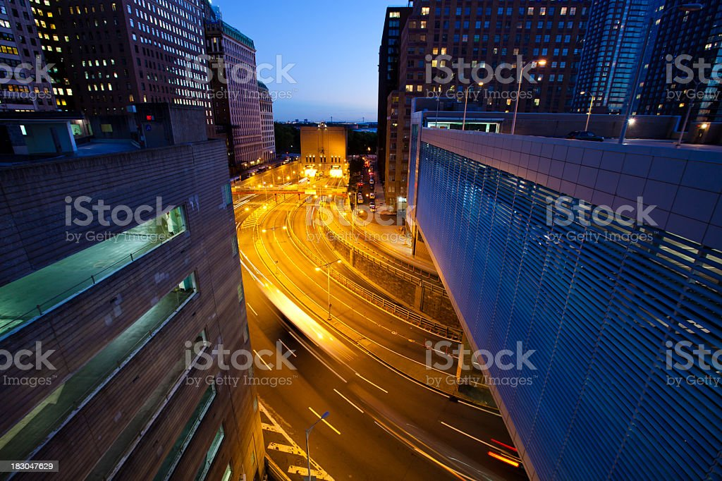Brooklyn-Battery Tunnel Entrance royalty-free stock photo