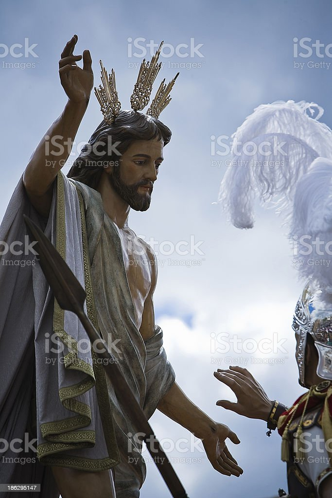 Brotherhood of our father Jesus resurrected royalty-free stock photo