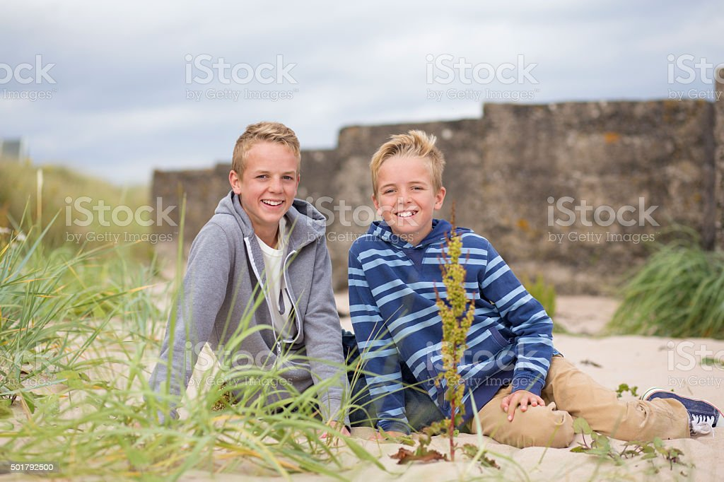 Brotherly Love stock photo
