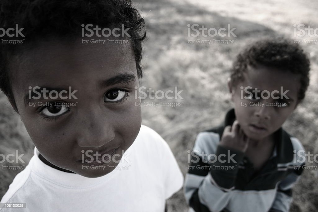 Brothers#2 royalty-free stock photo