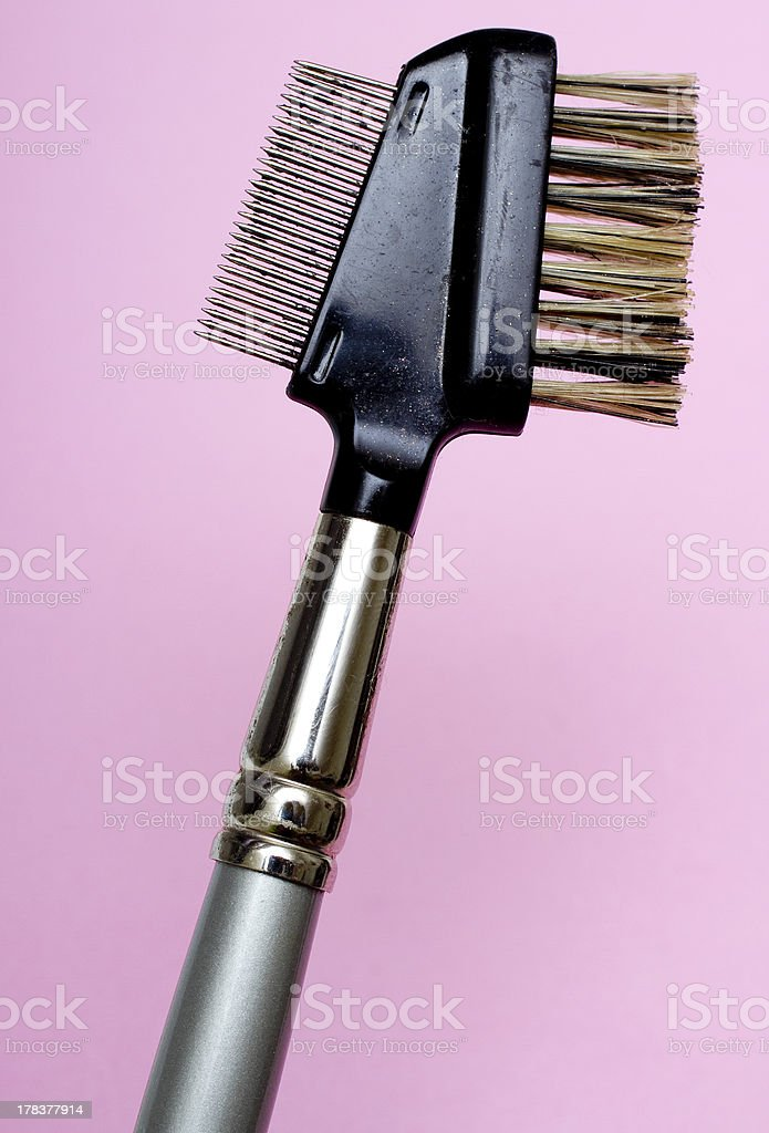 Brow and Lash Comb stock photo