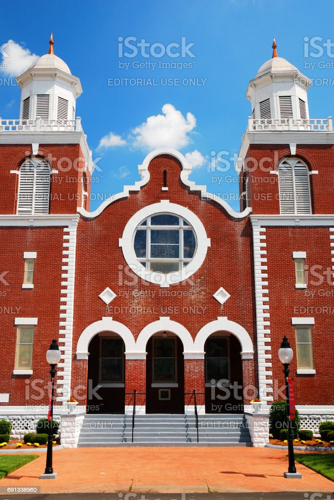 Brown AME Chapel stock photo