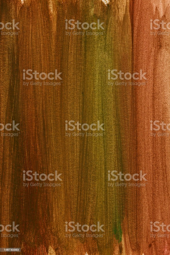 brown and green watercolor background royalty-free stock photo