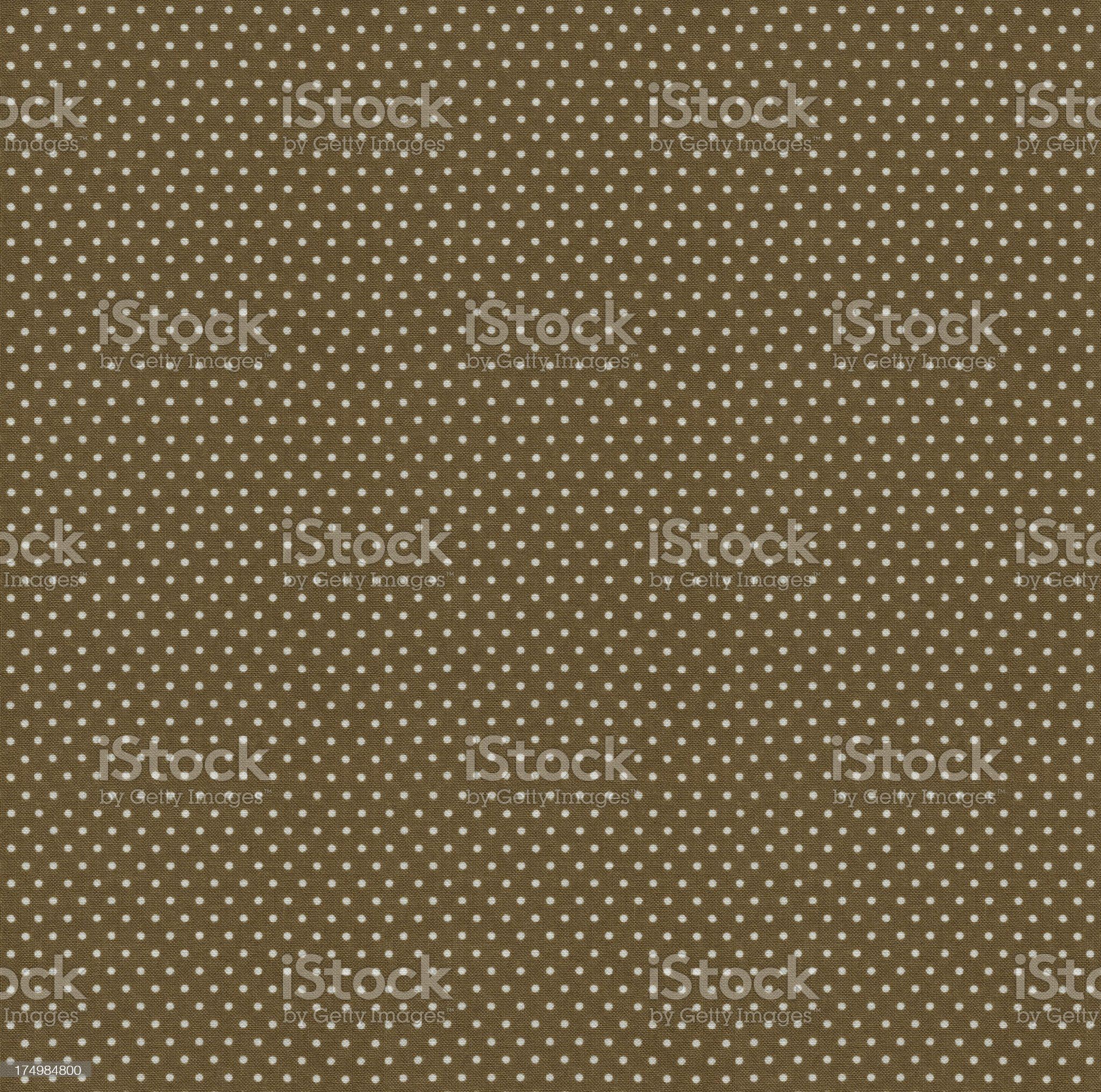 Brown and White Dots Texture royalty-free stock photo
