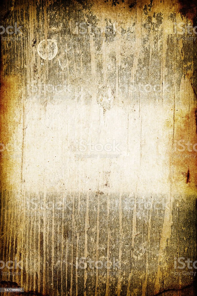 A brown and yellow burnt wood background royalty-free stock photo