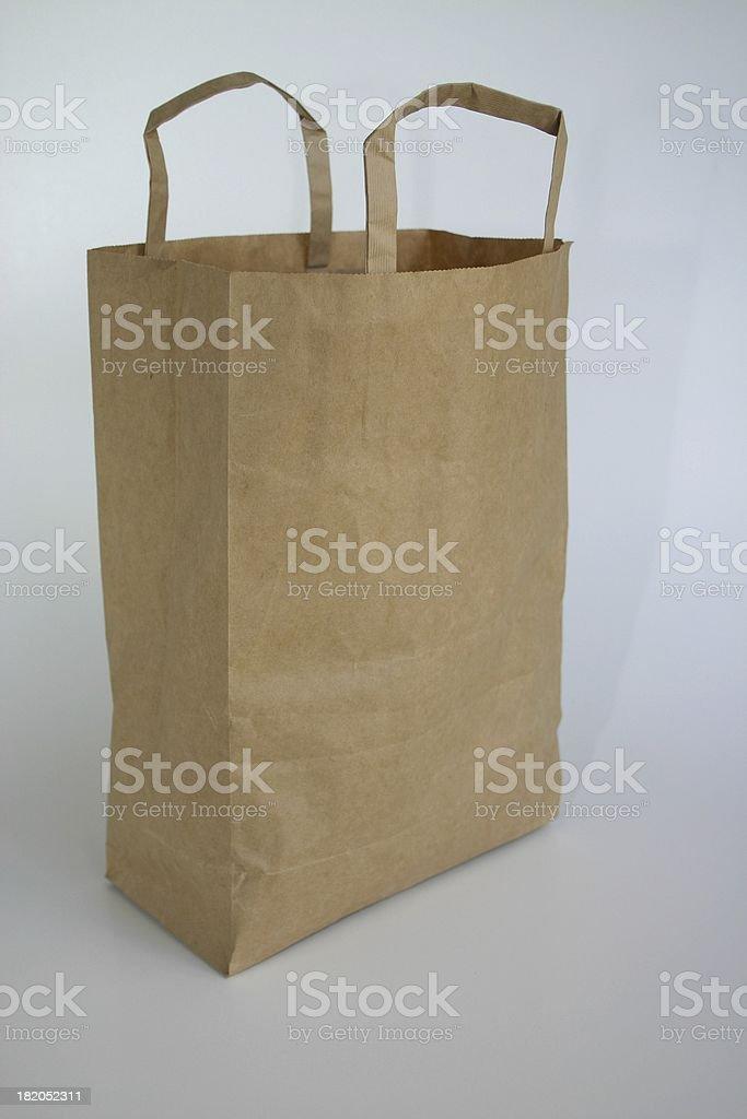 brown bag paper royalty-free stock photo