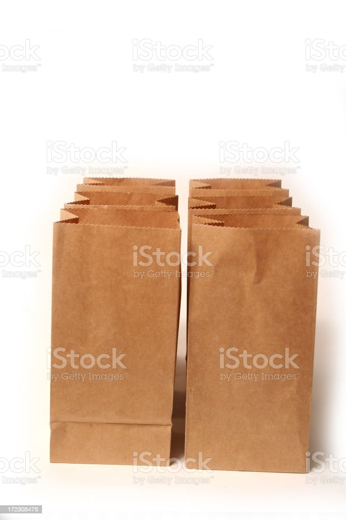 Brown Bag royalty-free stock photo