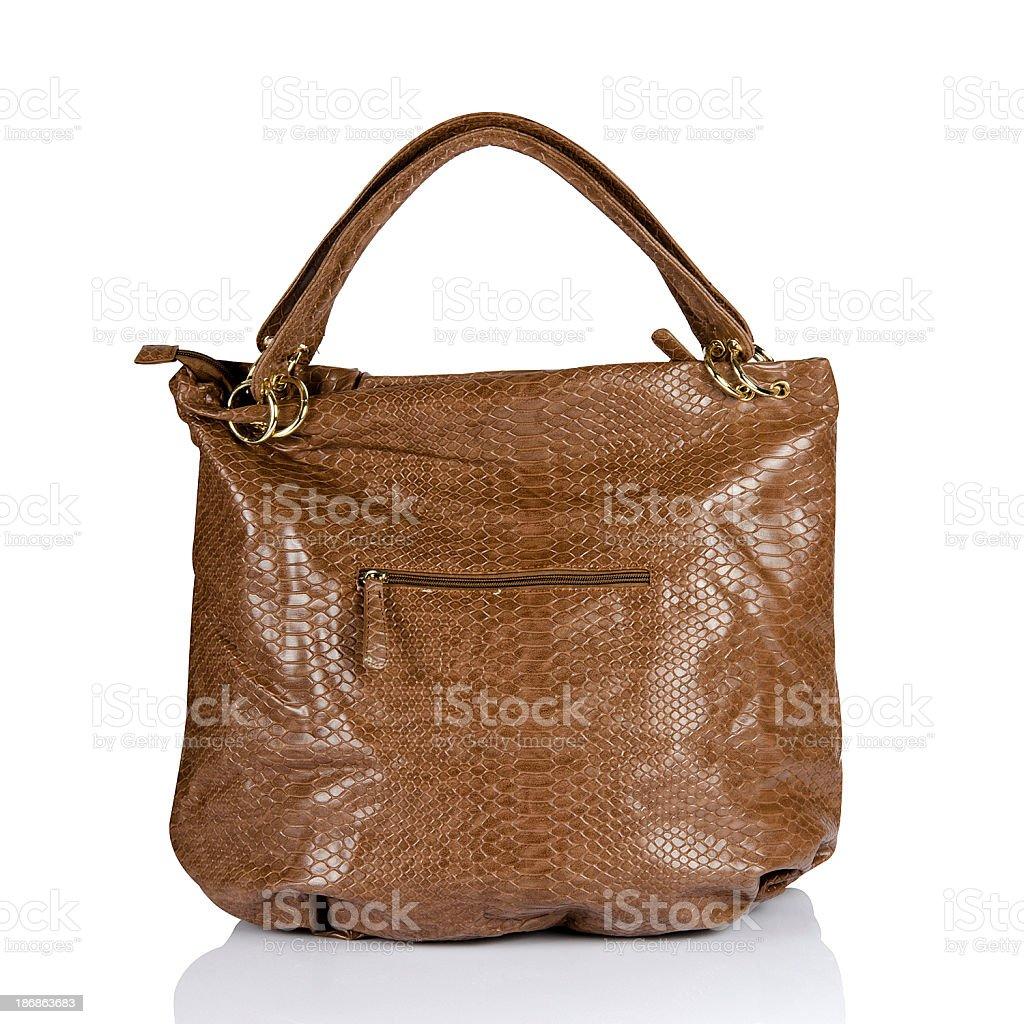 brown bag stock photo