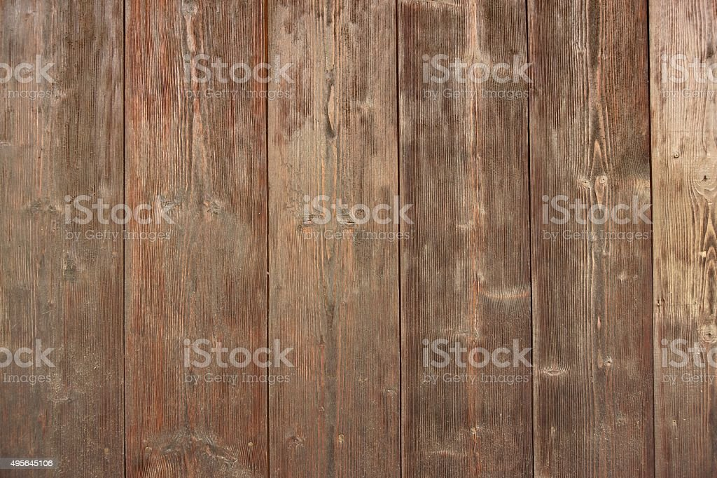 Brown Barn Wooden Boards Panel For Modern Vintage Home Design stock photo