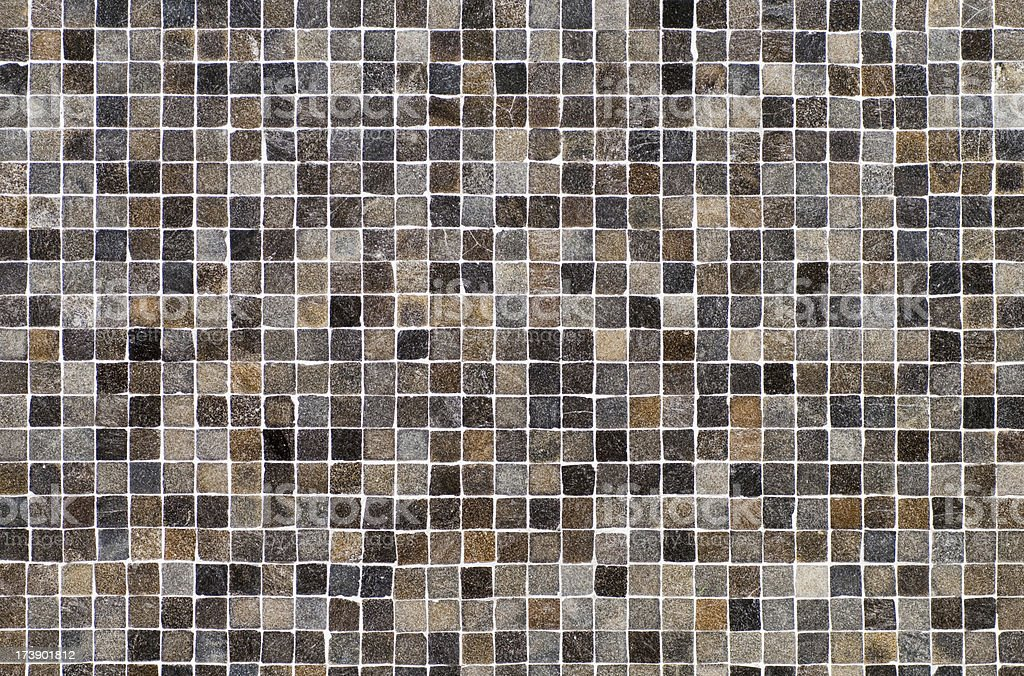 Brown, black and gray ceramic tile background stock photo