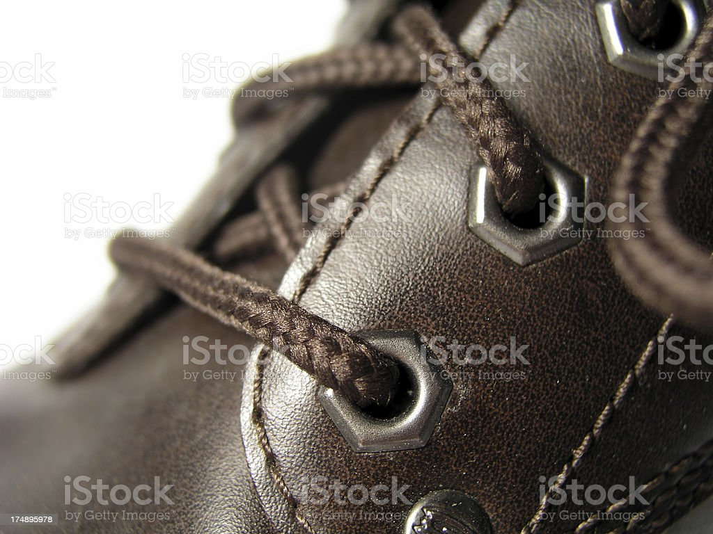 Brown Boot royalty-free stock photo